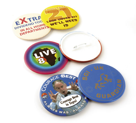 77mm Personalised Button Badges