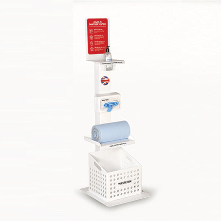 Deluxe Sanitiser & Cleaning Station Loaded