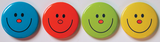 Smiley Badges Pack of 40