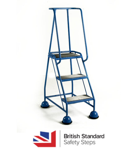 British Standard Safety 3 Step ladder 5009
