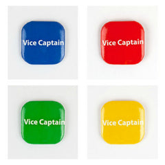 32mm Square Button Badge - Vice Captain