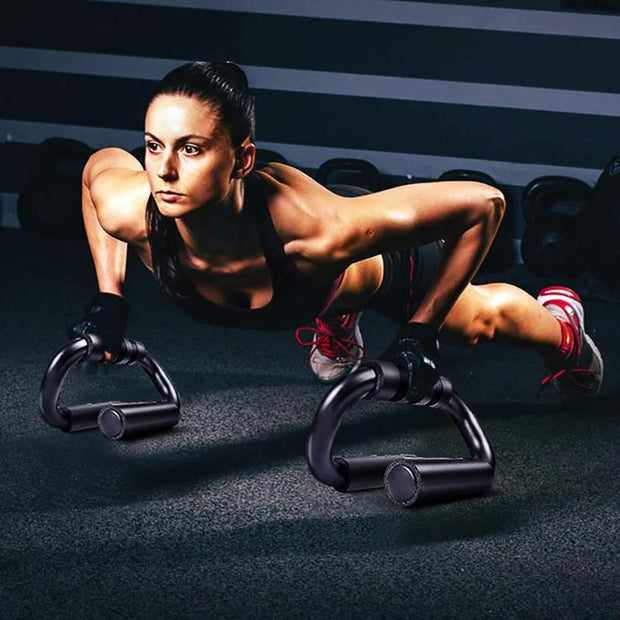 Arm Muscle Trainer Push Up Bar Stands - FitnessWanted