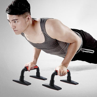 Push-Up Stands Bars - FitnessWanted