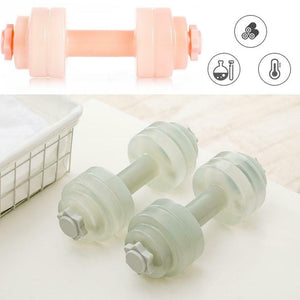 Water Dumbbells Plastic Arm - FitnessWanted