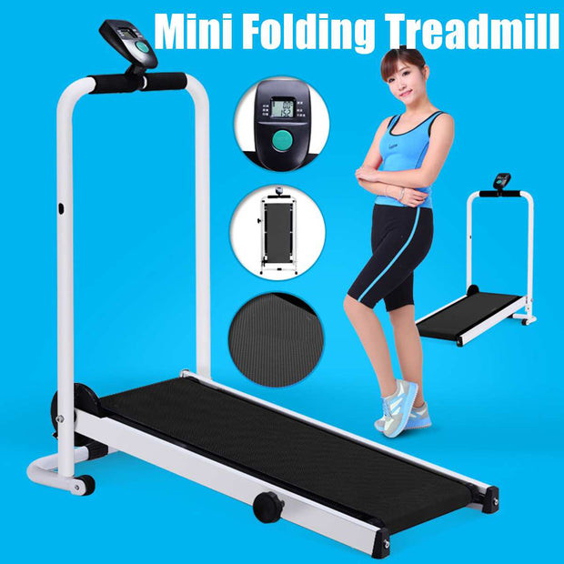 Electric Foldable Treadmill - FitnessWanted