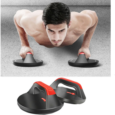 Push Up Bar Stands Rotating Handle 360-degree - FitnessWanted