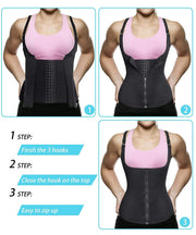 Women Waist Trainer Push Up Vest - FitnessWanted