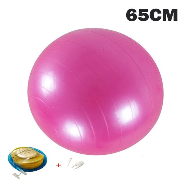 Yoga Balls Pilates Fitness Gym Balance - FitnessWanted