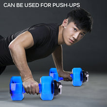 Load image into Gallery viewer, Dumbbells Plastic Big Large Capacity - FitnessWanted