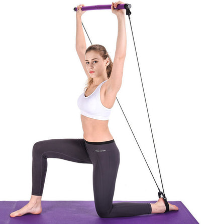 Pilates Bar Resistance Bands - Fitness Wanted