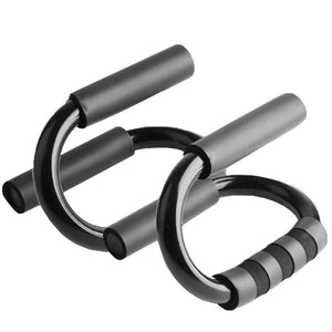 S Shape Push up Bars - FitnessWanted