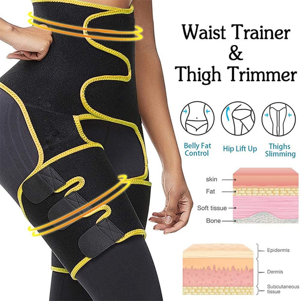 Women High waist Trainer Belt - FitnessWanted