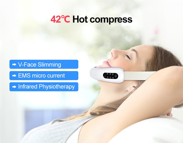 V Line Shape Massager For Face