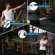 Muscle Training Yoga Rubber - FitnessWanted