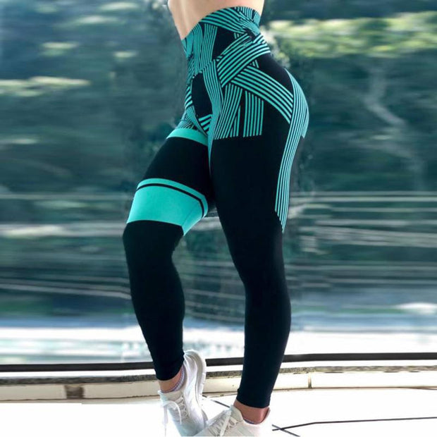 S-XL Plus Size Leggings Sport Pants - FitnessWanted
