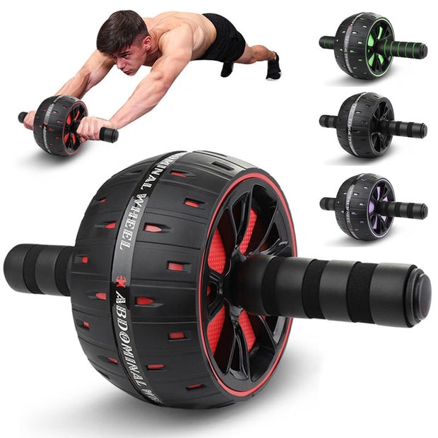 Roller For Abdominal Muscle Trainer - FitnessWanted