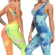Women Sport Suit sexy open back - FitnessWanted