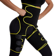 Waist and thigh trimmer Double Compression Belt - FitnessWanted