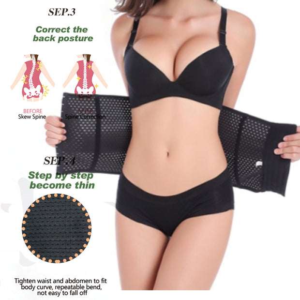 Steel Boned Body Shaper - FitnessWanted