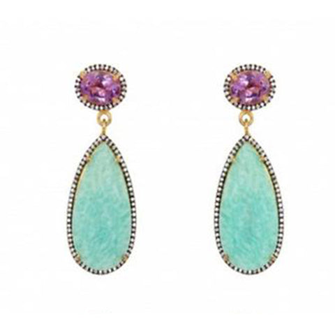 Atelier Mon Amazonite Earrings