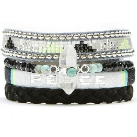 Hipanema BlackPeace Bracelet