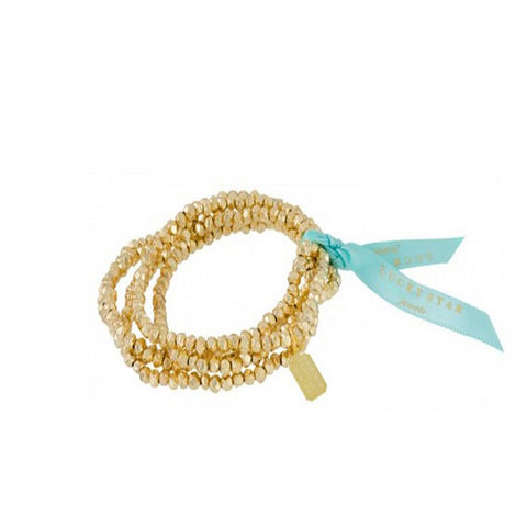 Lucky Star Goldrush Stretch Bracelets