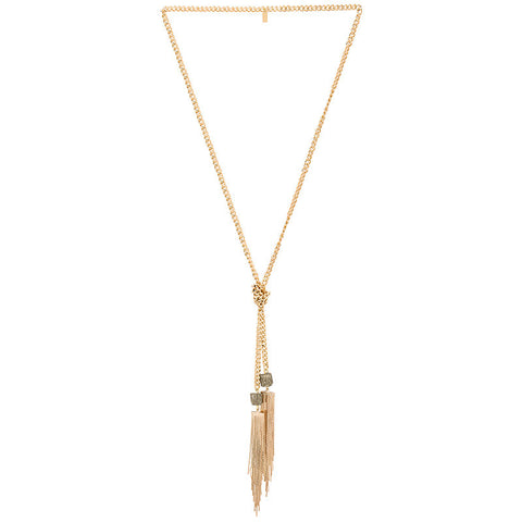 Lucky Star Goldrush Lariat Necklace