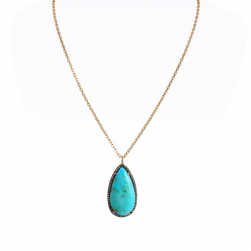 Atelier Mon Mohave Turquoise Necklace