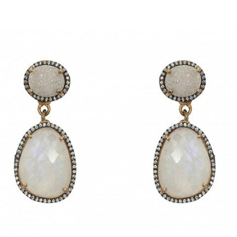 Atelier Mon Moonstone Earrings