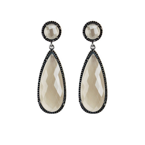 Susan Hanover Smoky Quartz Earrings