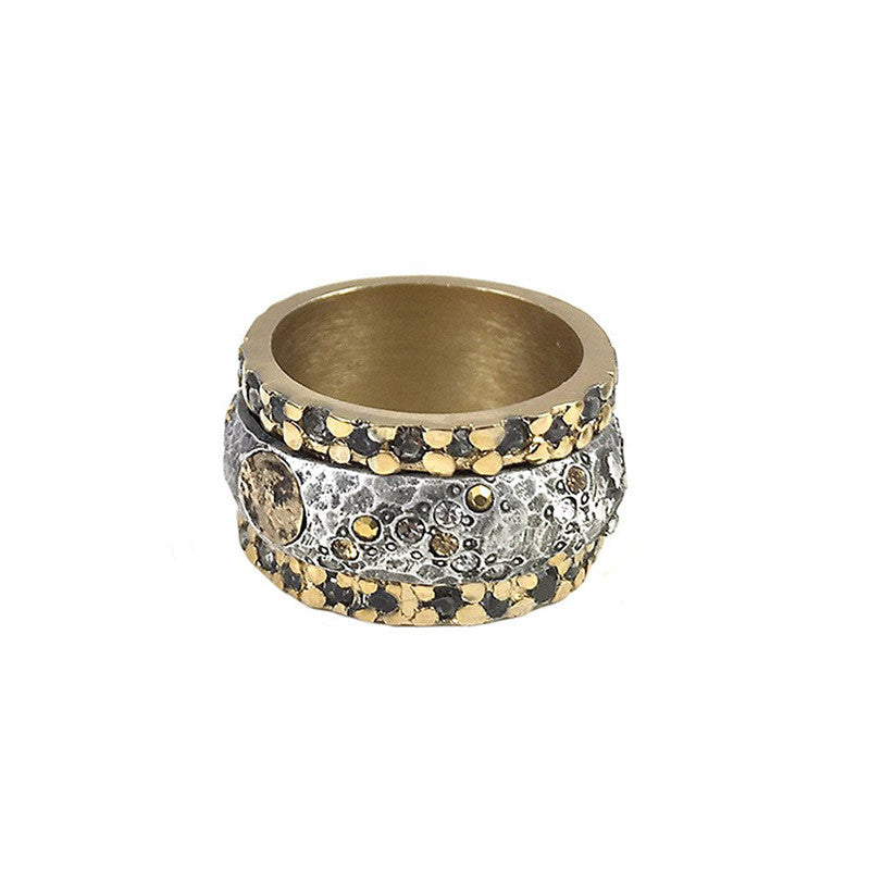 Tat2 Designs Gold Bando Ring