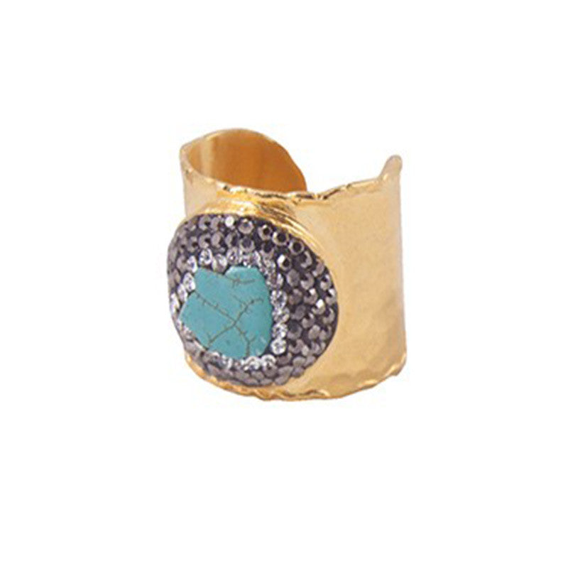Turquoise Cuff Ring