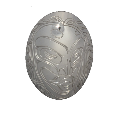 Pendant - Wild Woman (Sterling Silver)
