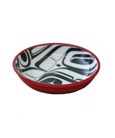 Small Dish - Raven (Red/Black)