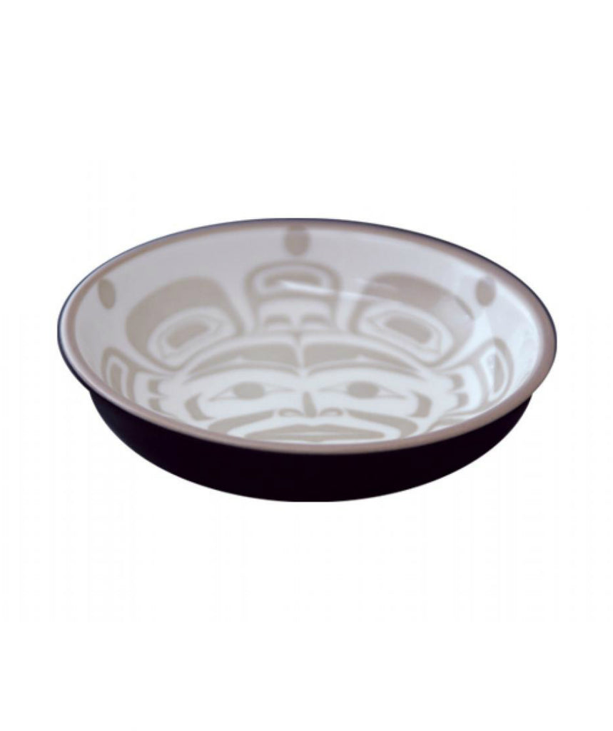Small Dish - Moon (Taupe/Black)