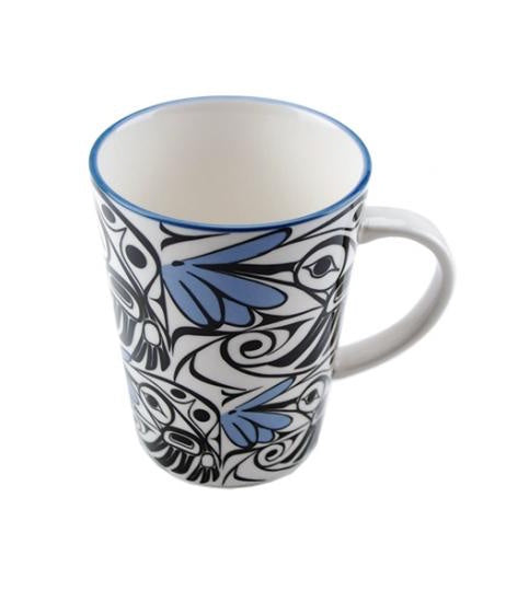 Mug - Hummingbird (Blue/Black)