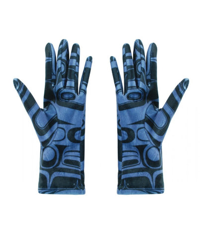 Women's Gloves - Raven (Blue)