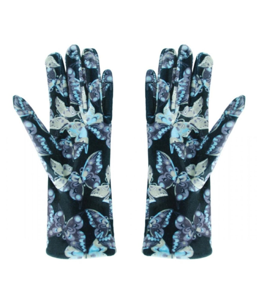 Women's Gloves - Butterfly (Multi Color)