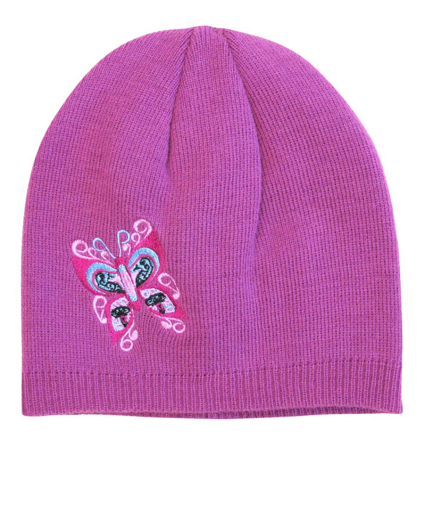 Embroidered Knitted Hat - Celebration of Life
