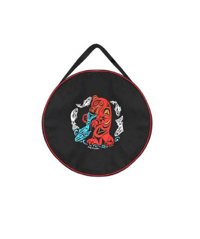 "21"" Drum Bag - Bear Salmon"