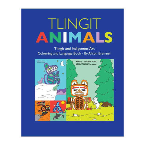 Book (Kids Colouring)- Tlingit Animals