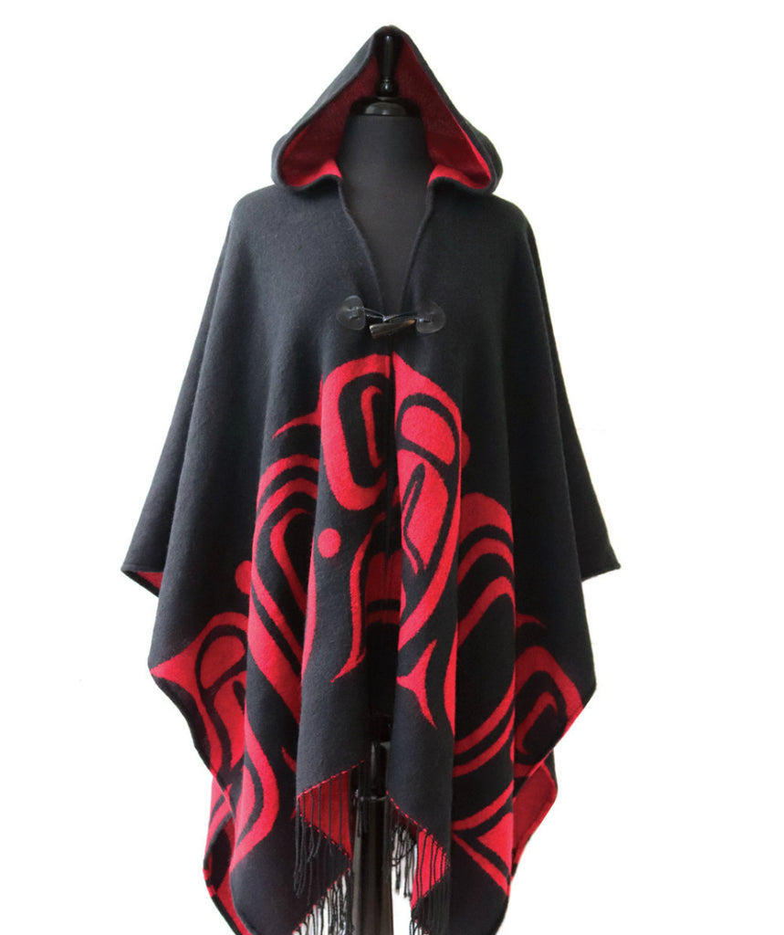 Hooded Fashion Wrap - Formline