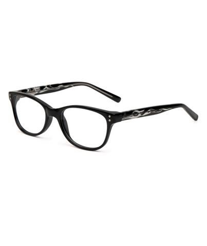 Reading Glasses - Heron (Black)