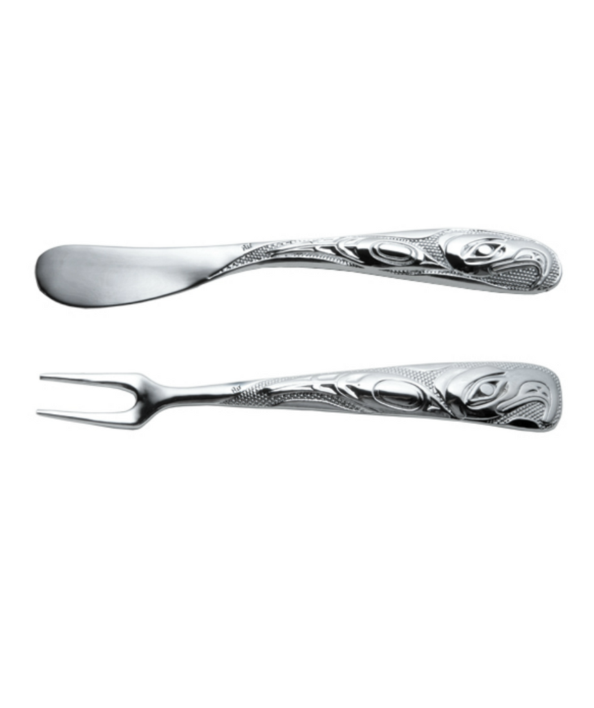 Pate and Fork Set - Eagle