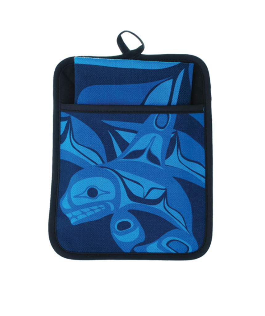 Pocket Potholder - Killer Whale