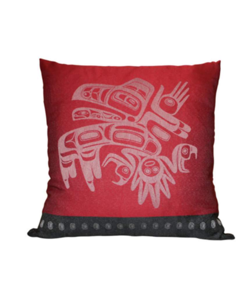 Pillow Cover - Running Raven