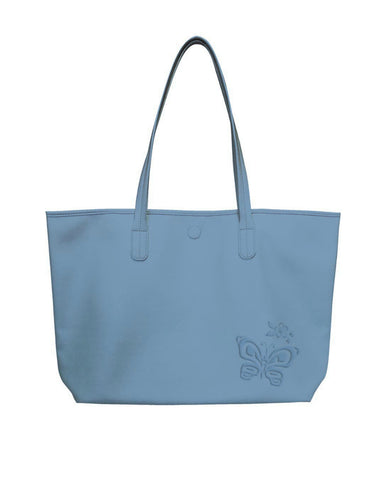 Tote Bag - Butterfly and Wild Rose (Reversible)