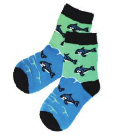 Kids Socks - Whale