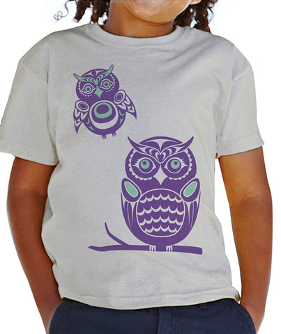 Kids TShirt - Owls