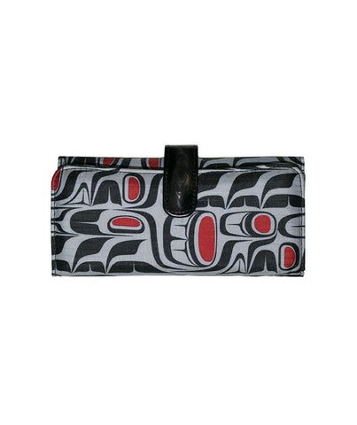 Wallet - Pacific Formlines (Black)